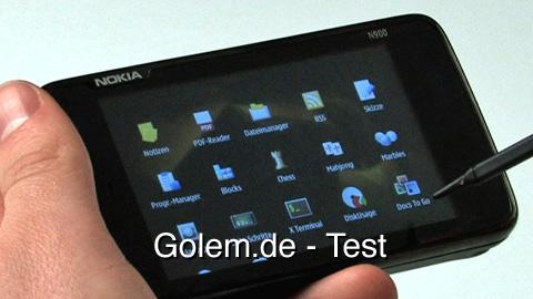 Nokia N900 - Test