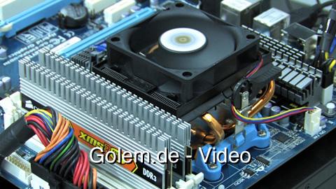 AMD Phenom II X6 alias Thuban auf der Cebit 2010
