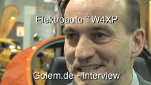 TW4XP - ein deutsches Elektroauto für den Automotive X Prize