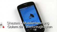 Golem.de - Werkzeugkasten - Shazam