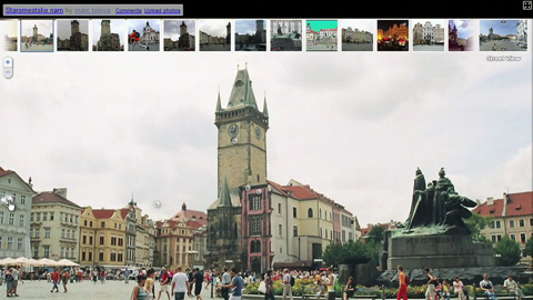 Navigation durch User-Fotos in Google Street View