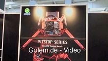 Spinnengehäuse - Pitstop PC-T1 Lian Li auf der Cebit 2010