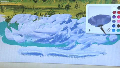 Gustav - realistisches Malen am Computer