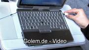 Logitech Lapdesk N700 - Vorstellung auf der Cebit 2010