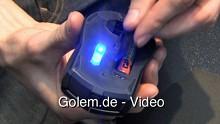 Roccat Pyra - Wireless-Maus mit 1.000 Hz vorgestellt auf der Cebit 2010