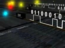 IBM-Chips, die mit Licht kommunizieren