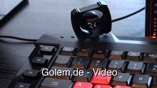 Thermaltake präsentiert das Gaming-Keyboard Challenger auf der Cebit 2010