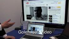 Vorstellung von Wireless Display auf der Cebit 2010