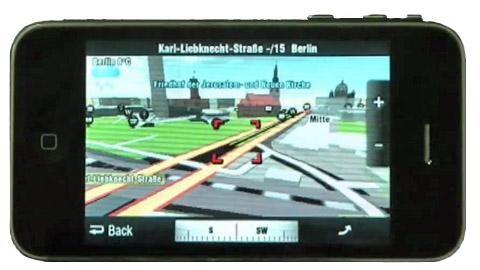 Sygic Aura - Navigationssoftware und soziales Netz
