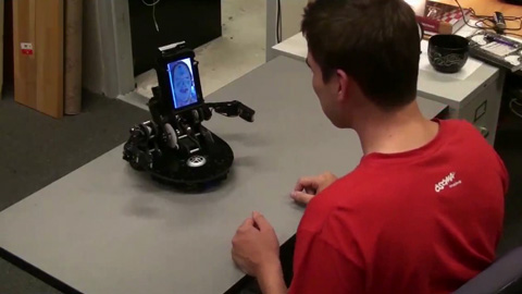 Mebot - der gestikulierende Telepräsenzroboter