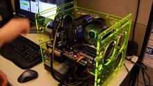 Nvidia zeigt GTX 480 mit Benchmark Heaven