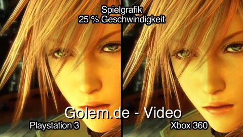 Final Fantasy 13 - Versionsvergleich von Playstation 3 und Xbox 360 (720p High Definition)