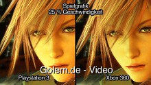Final Fantasy 13 - Versionsvergleich von Playstation 3 und Xbox 360 (720p High Definition)