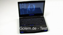 Alienware M11x - Notebook von Dell - Test