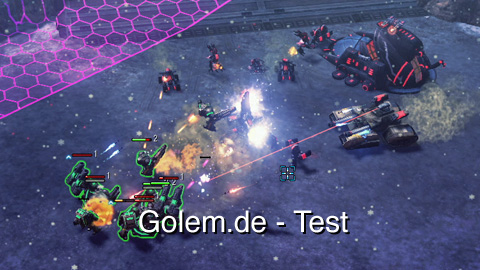 Command Conquer 4 Tiberian Twilight - Test