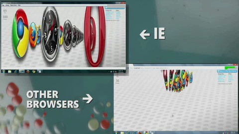 Microsoft präsentiert Internet Explorer 9 und HTML5-Demos auf der Mix 2010
