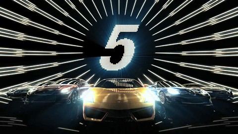 Gran Turismo 5 - Night-Time-Trailer