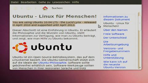 Vorschau - Ubuntu 10.04 LTS Lucid Lynx