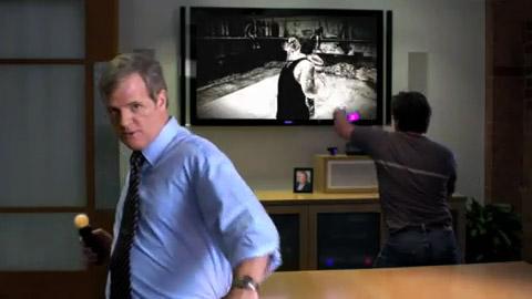 Kevin Butler stellt Move vor - Playstation Controller