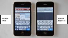 Opera Mini 5 für das iPhone