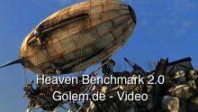 Heaven Benchmark 2.0 von Unigine - Video über die Neuerungen