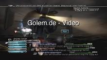 Final Fantasy 13 - Bosskampf in voller Länge (Jobwechsel, Beschwörung von Odin)