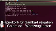 Golem.de - Werkzeugkasten - Papierkorb für Samba-Freigaben