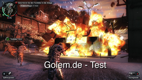 Just Cause 2 - Test von Golem.de