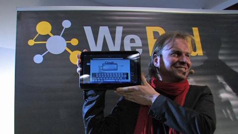 WePad WeTab - Vorstellung in Berlin