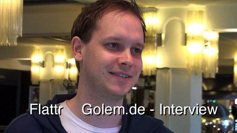 Flattr - Interview mit Peter Sunde auf der republica 2010