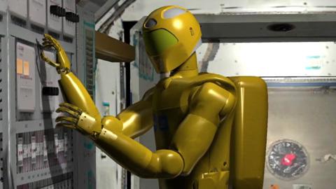 Robonaut 2 - Humanoider Roboter für die ISS