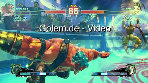 Super Street Fighter 4 - Intro und zwei Kämpfe