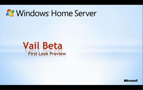 Windows Home Server V2 - Codename Vail - erster Blick auf die Beta