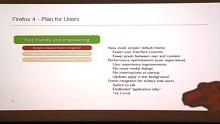 Mike Beltzner - Roadmap für Firefox 4.0