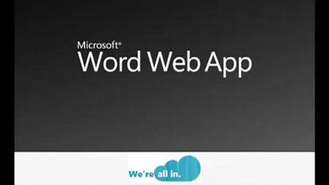 Microsoft vergleicht Word Web App mit Google Docs
