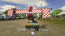 Modnation Racers - Rennbeispiele