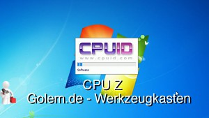Golem.de - Werkzeugkasten - CPU-Z
