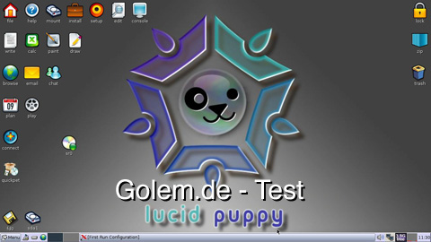 Puppy Linux 5, alias Lupu - Test