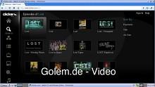 Clicker.tv - Programmführer in HTML5