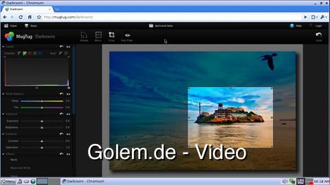 Mugtug Darkroom - Bildbearbeitung in HTML5
