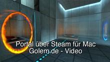 Portal über Steam für Mac auf Macbook Pro
