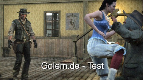 Red Dead Redemption - Test von Golem.de