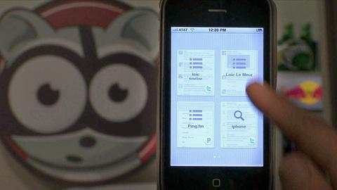 Seesmic für das iPhone mit Ping.fm