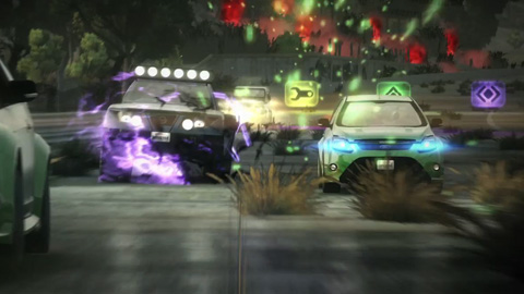 Blur - Trailer über die Rennen