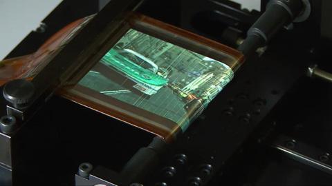 Aufrollbares OLED von Sony