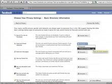 EFF-Anleitung - Privatsphäre auf Facebook sicherstellen
