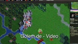 The Battle for Wesnoth (1.8.2) - Eindrücke von Golem.de