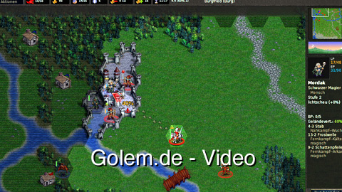 The Battle for Wesnoth (1.8.2) - Eindrücke von Golem.de