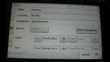 KDE-PIM Mobile auf dem Nokia N900 - Demo