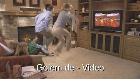 Microsoft Kinect in Aktion - Beispiele vor dem heimischen Fernseher
